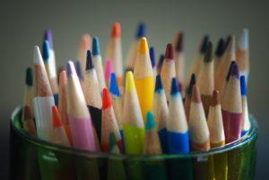Farben im Etikettendesign